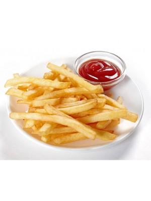 Картофель фри с кетчупом