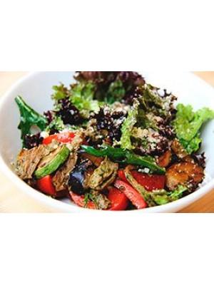 Салат с телятиной, овощами гриль