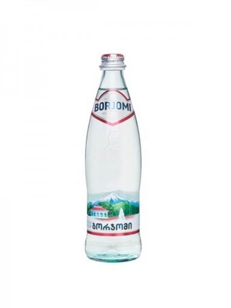 Вода минеральная Боржоми стекло 500мл в кафе Сити В Черноморске
