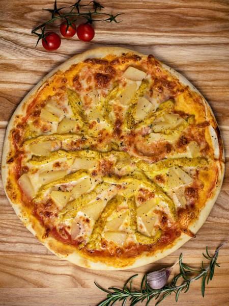 Пицца Гавайи 30 см в меню кафе Сити в Черноморске