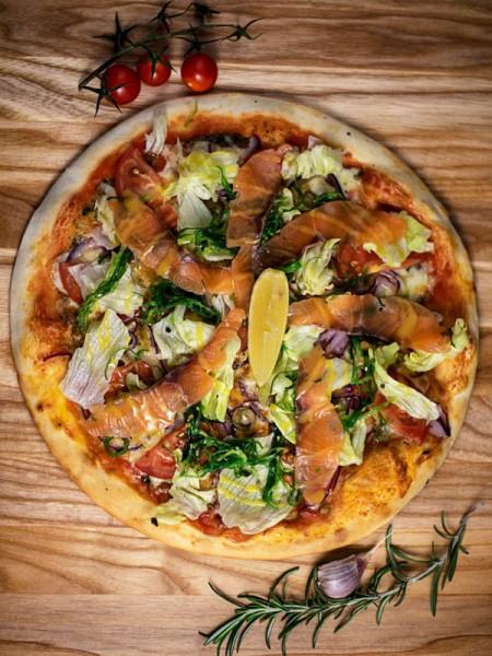 Пицца с Лососем 30см